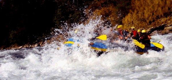 Sunkoshi River Rafting - Nepal River Rafting