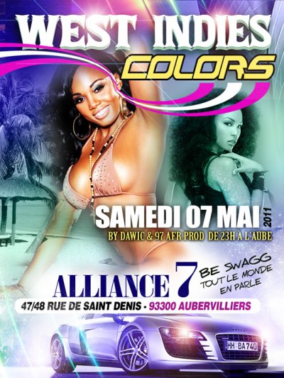 LE 7 MAI 2011 WEST INDIES COLORS ALLIANCE 7