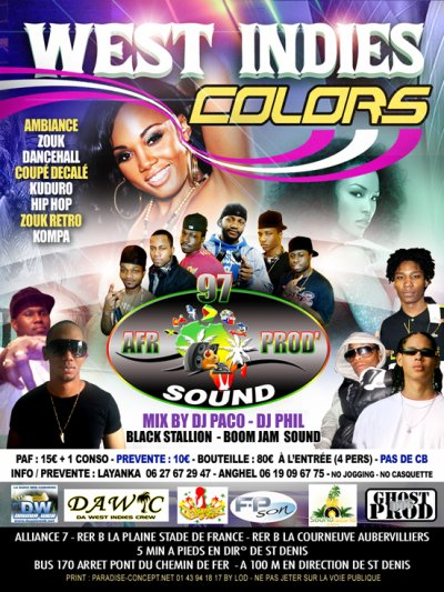 WEST INDIES COLORS LE 7 MAI 2011 ALLIANCE 7