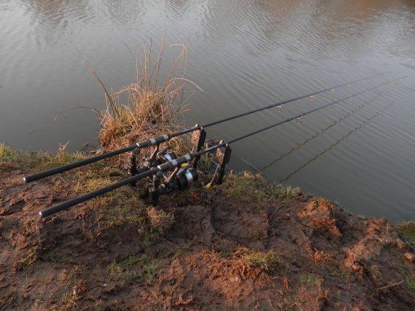Pêche rapide à pin's Land...