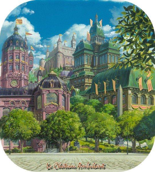 Film Le Château Ambulant / Hauru no Ugoku Shiro - ハウルの動く城