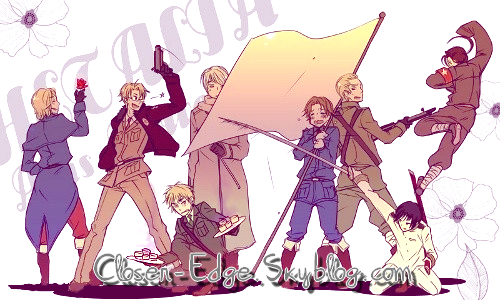 Axis Powers : Hetalia - ヘタリア Axis Powers