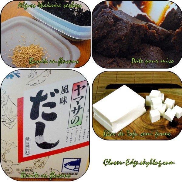 Comment faire une soupe Miso  ? by Murasaki-sama