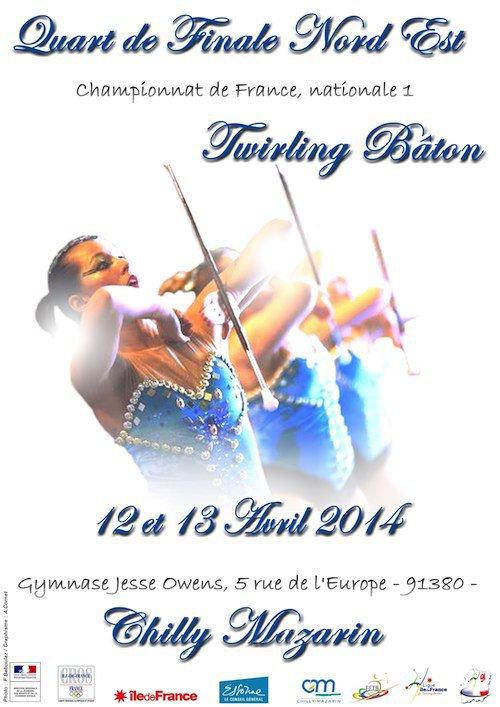 CHAMPIONNAT   DE FRANCE 1/4  DE FINALE