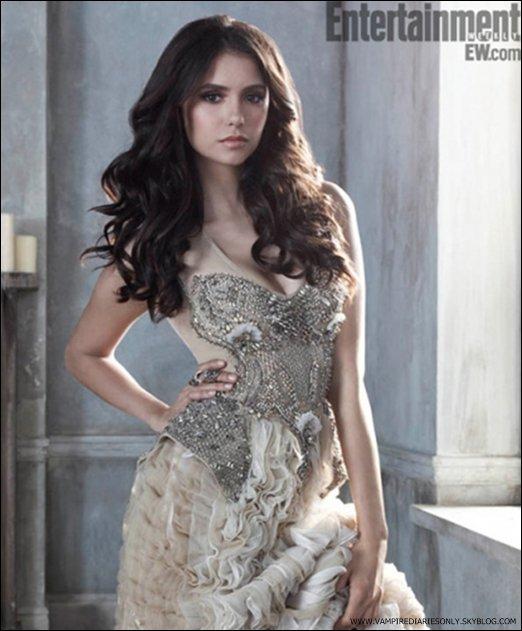 *  Entertainment Weekly nous a devoilé une nouvelle photo promotionnelle de Nina . Tu aimes ?   *