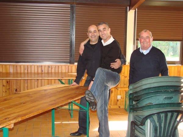 mes oncles avec mon grand père