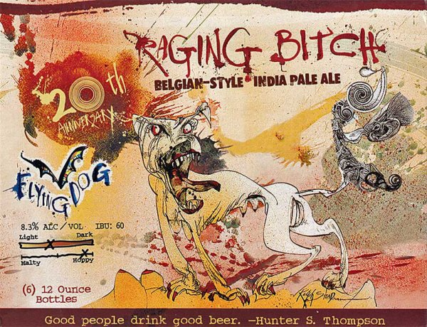 Review : Flying Dog Raging Bitch