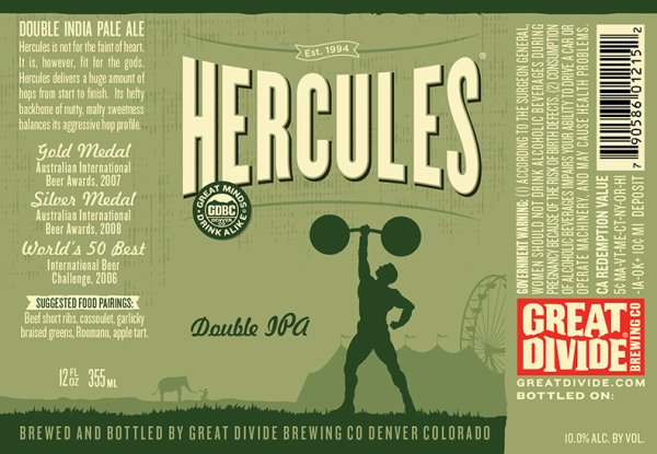 Review : Great Divide Hercules Double IPA