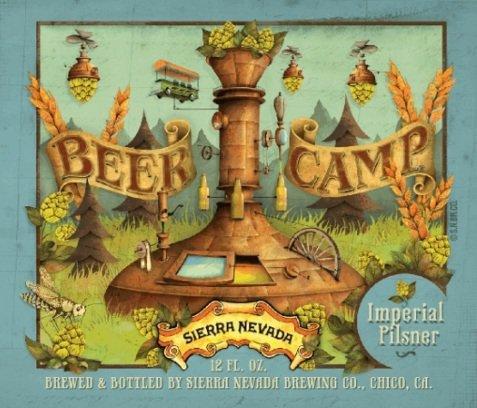 Review :Sierra Nevada Beer Camp Imperial Pilsner #43