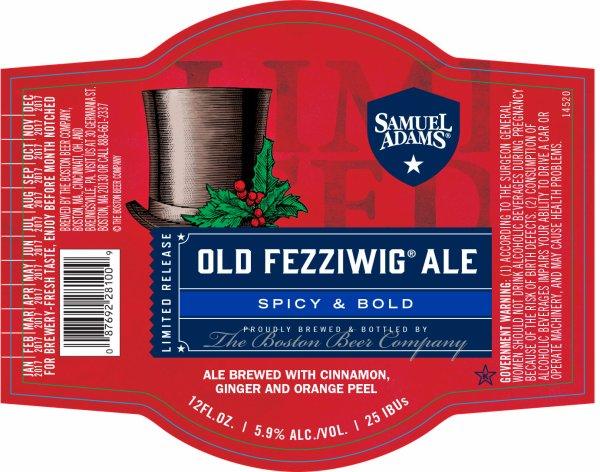 Review :Samuel Adams Old Fezziwig Ale