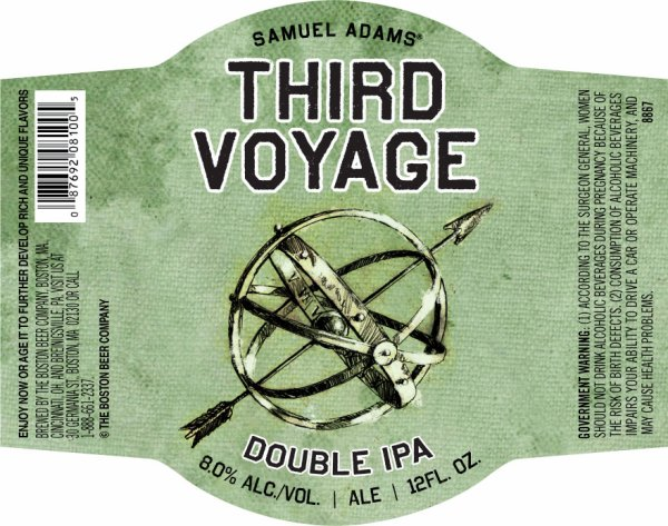 Review : Samuel Adams Third Voyage Double IPA