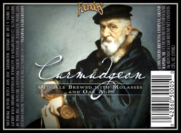 Review : Founders Curmudgeon Old Ale