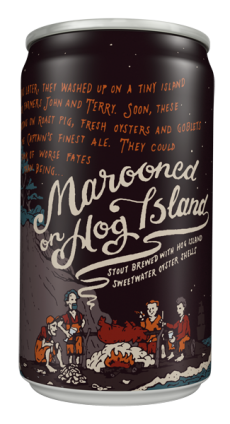 Review : 21st Amendment Marooned on Hog Island