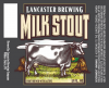 Review : Lancaster Milk Stout