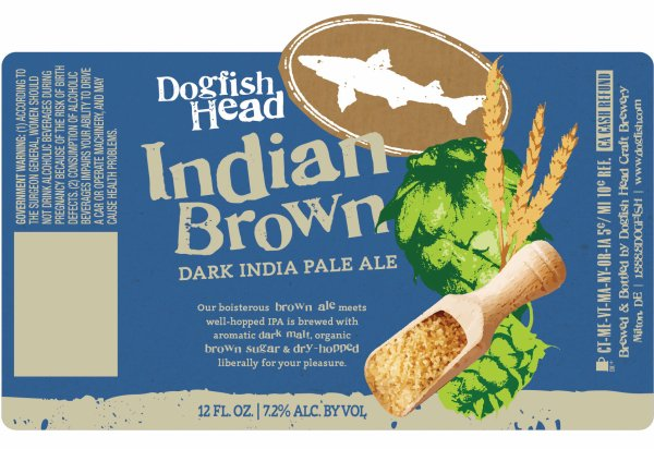 Review : Dogfish Head Indian Brown Ale