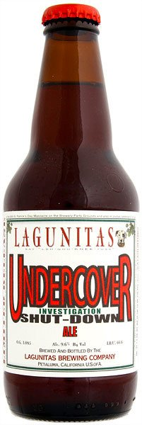 Review : Lagunitas Undercover Investigation Shut-Down Ale