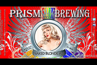 Review :  Prism Naked Blonde Ale