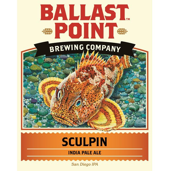 Review :  Ballast Point Sculpin IPA