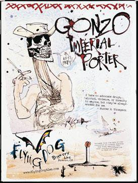 Review :  Flying Dog Gonzo Imperial Porter