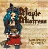 Review : Saucony Creek Captain Pumpkin's Maple Mistress