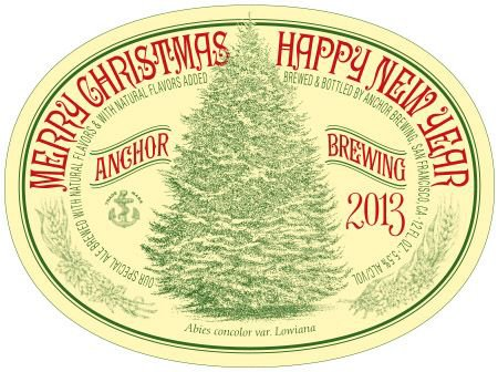 Review :  Anchor Christmas Ale 2013