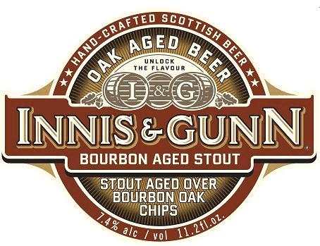 Review :  Innis & Gunn Bourbon Aged Stout