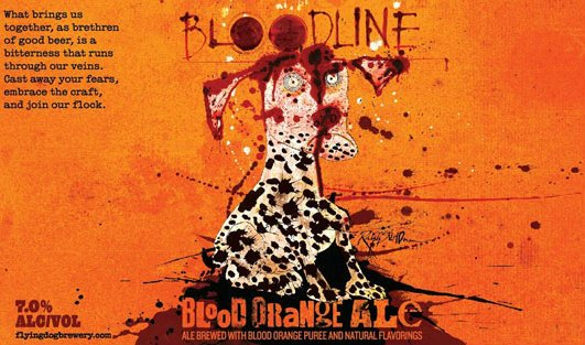 Review : Flying Dog Bloodline Blood Orange IPA