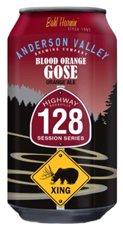 Review : Anderson Valley Highway 128 Blood Orange Gose