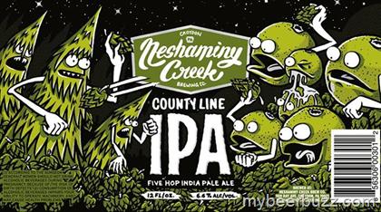 Review :  Neshaminy Creek County Line IPA