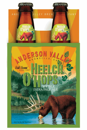 Review : Anderson Valley Heelch O' Hops