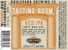 Review :  Boulevard Tasting Room Series Red IPA