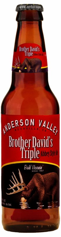 Review : Anderson Valley Brother Davids Triple