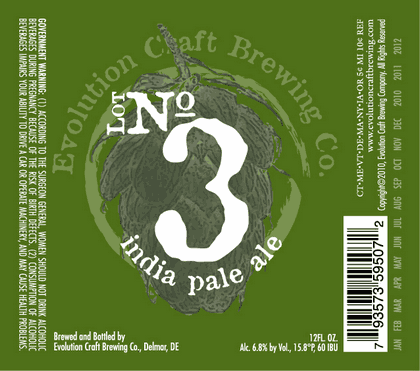 Review : Evolution Craft Lot No3 IPA