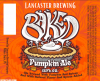 Review : Lancaster Baked Pumpkin Ale