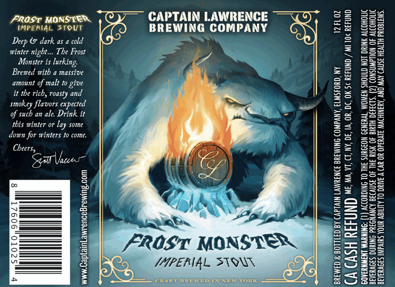 Review : Captain Lawrence Frost Monster