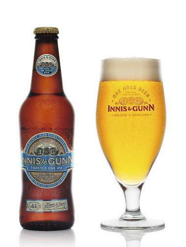 Review :  Innis & Gunn Toasted Oak IPA