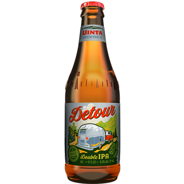 Review :  Uinta Detour Double India Pale Ale