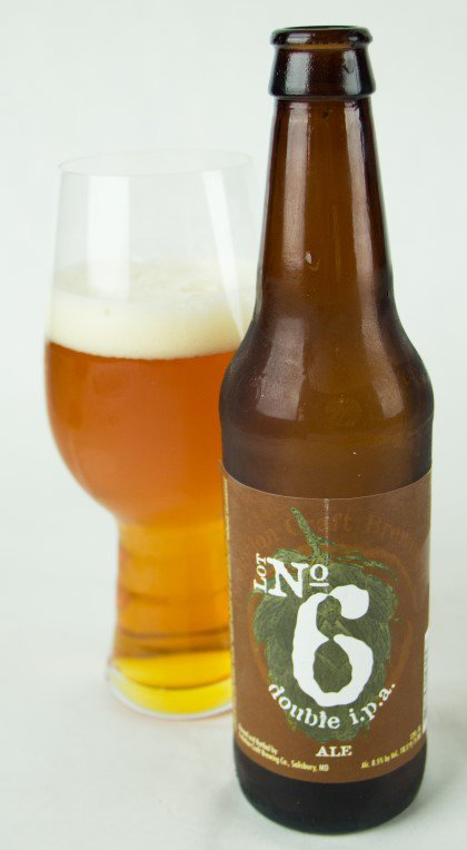 Review :  Evolution Craft Lot #6 Double IPA
