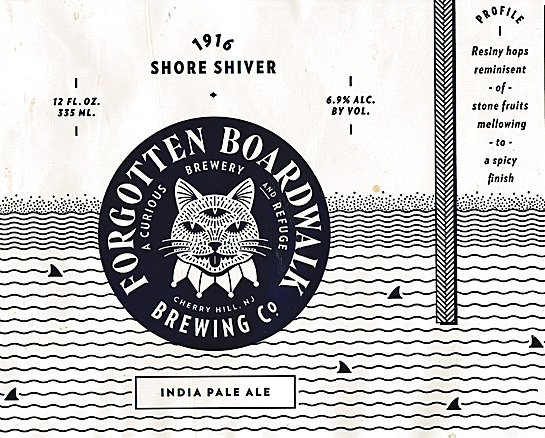 Review :  Forgotten Boardwalk 1916 Shore Shiver