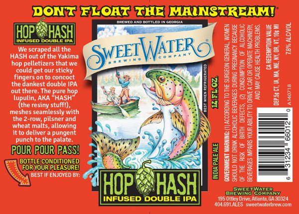 Review : Sweetwater Hop Hash Double IPA