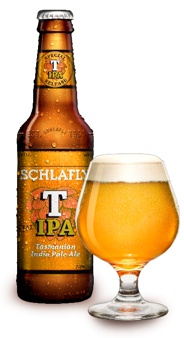 Review : Schlafly Tasmanian IPA