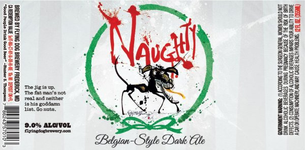Review : Flying Dog Naughty