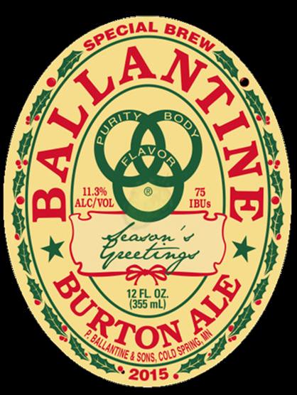 Review : Ballantine Burton Ale 2015