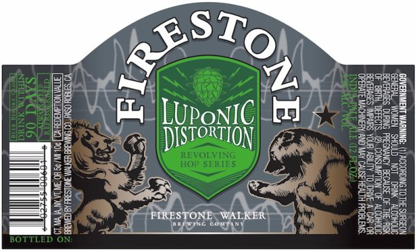 Review : Firestone Walker Luponic Distortion Revolution No. 001