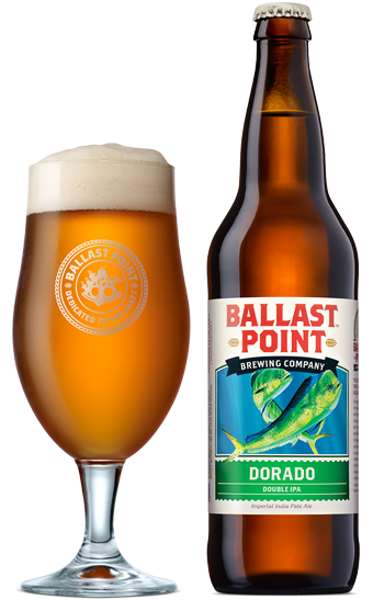 Review : Ballast Point Dorado Double IPA