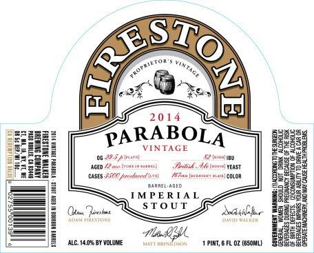 Review : Firestone Walker Parabola 2014