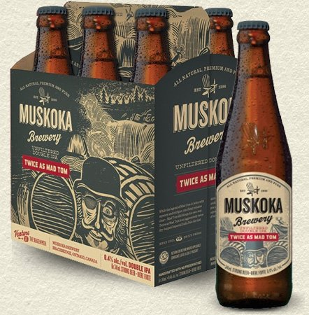 Review : Muskoka Twice As Mad Tom IPA
