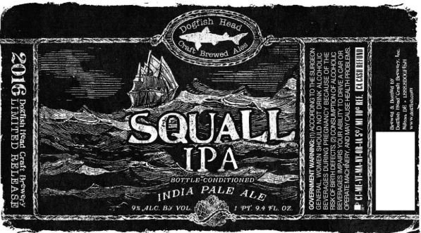 Review : Dogfish Head Squall IPA