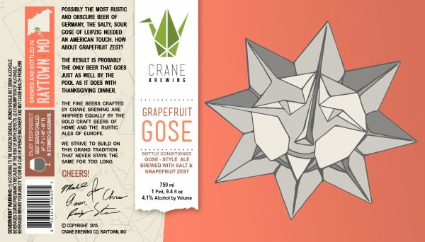 Review : Crane Grapefruit Gose