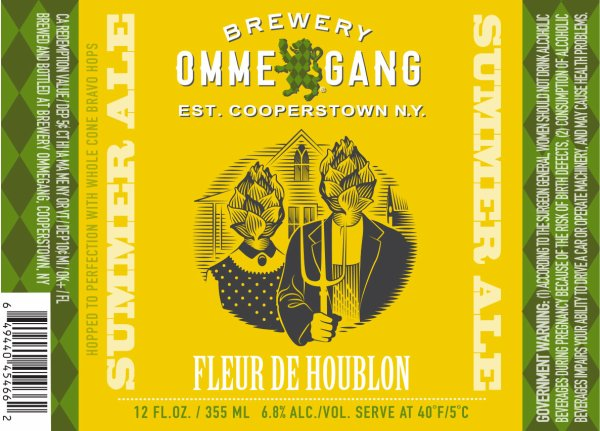 Review : Ommegang Fleur De Houblon